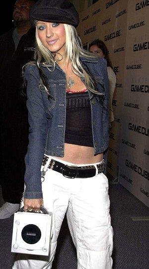 Make-Up face herself, Christina Aguilera