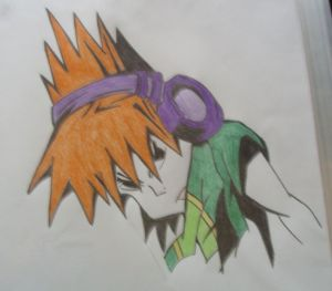 TWEWY coloured pencil experiment