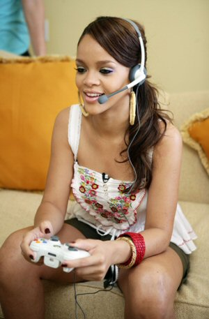 """""""When the sun shine we'll play Xbox together..."""""""